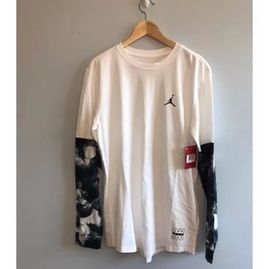 c82542dba03 Jordan Shirts | Long Sleeve Shirt Clouded Nightmares Nwt | Poshmark